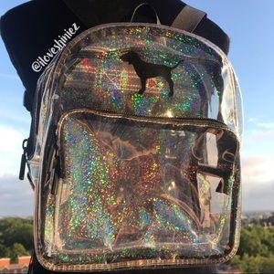 •Victoria's Secret PINK• Clear Mini Backpack